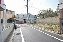 世田谷区太子堂の閑静な住宅街