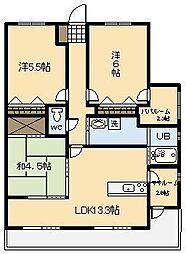 (新築)アルファスマート青葉北2[506号室]の間取り