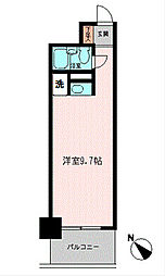 コモド横浜サウス[4階]の間取り