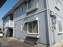 滋賀県愛知郡愛荘町東出の賃貸アパートの外観