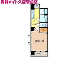 ミ・カーサ・キタ[2階]の間取り