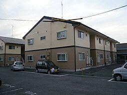 愛知県西尾市今川町馬捨場の賃貸アパートの外観