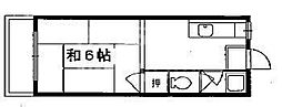 碧叡荘(ヘキエイソウ)[27号室号室]の間取り