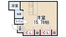 平野第一ビル[B101号室]の間取り
