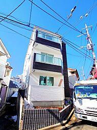東京都板橋区成増2丁目の賃貸アパートの外観