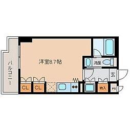 グランルージュ栄 Ⅱ[3階]の間取り