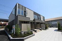 群馬県伊勢崎市ひろせ町の賃貸アパートの外観