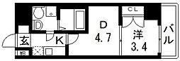 No77 HANATEN 002[303号室号室]の間取り
