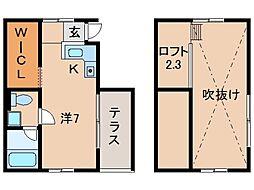 ルフトゼロ[1階]の間取り