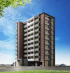 仮)中原東新築マンション[6階]の外観