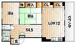 KHK赤坂マンション[3階]の間取り