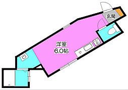 Sebosebo清瀬[1階]の間取り
