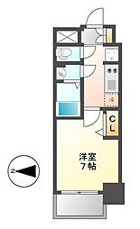 プレサンス上前津フィット[8階]の間取り