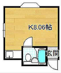 イケモトマンション[2階]の間取り