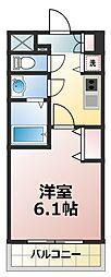 プレサンス新大阪ヴィガ[5階]の間取り