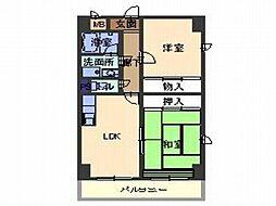 ODNIZ66[7階]の間取り