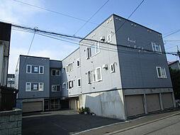 北海道札幌市東区北四十五条東13丁目の賃貸アパートの外観