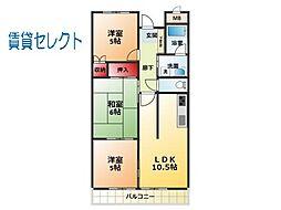 イーストコートSK[1階]の間取り