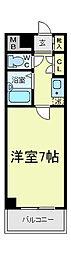 あべの恵寿ビル[9階]の間取り