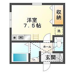 ユ・メゾン・サクラ[201号室]の間取り