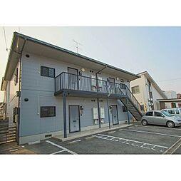 岡山県赤磐市桜が丘西10丁目の賃貸アパートの外観