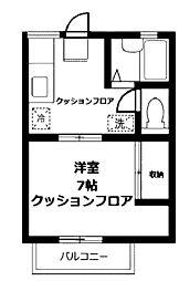 オーク・ハイホーム[2階]の間取り