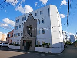 北海道札幌市豊平区中の島一条5丁目の賃貸マンションの外観