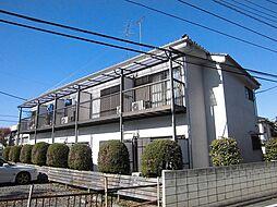 東京都清瀬市梅園2丁目の賃貸アパートの外観