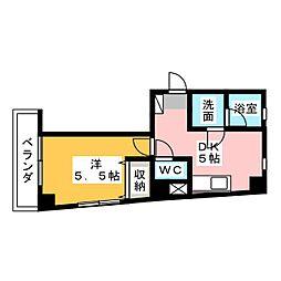 CHATOOL本町[3階]の間取り