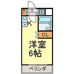 新栄アネックス[603号室]の間取り