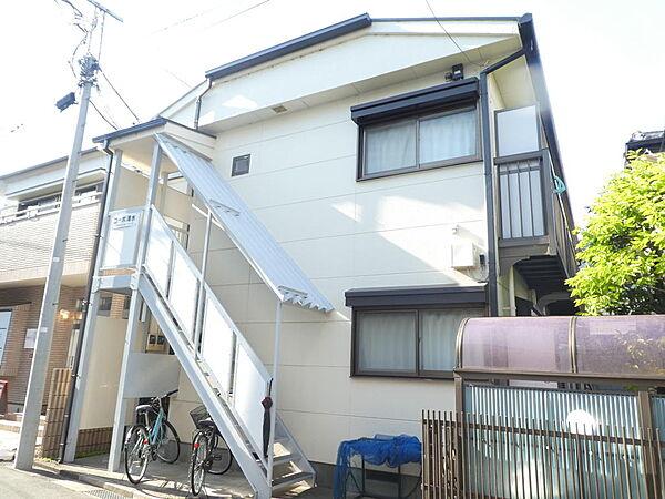 東京都武蔵野市桜堤1丁目の賃貸アパートの外観