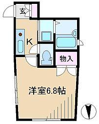 サンフラワーハウス[1階]の間取り