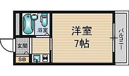 新大阪パート1[6階]の間取り