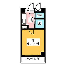 アイワ浄心ビル[7階]の間取り