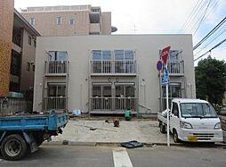 埼玉県川口市西青木1丁目の賃貸アパートの外観