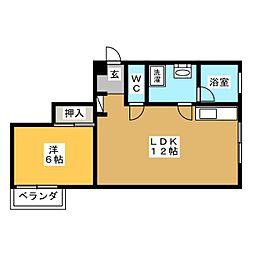菊富士マンション[2階]の間取り