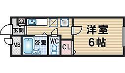 豊島ビルディング[304号室]の間取り