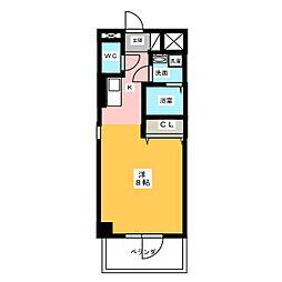 仮)サン・名駅太閤ビル[11階]の間取り