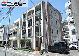 愛知県豊橋市魚町の賃貸マンションの外観