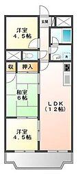 CaSa IKUMATAⅡ[2階]の間取り
