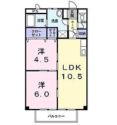 ソフィア99[2階]の間取り
