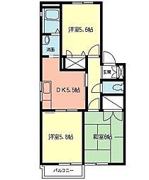 TOKU HOUSE[1階]の間取り