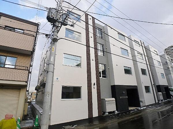 北海道札幌市西区西町北6丁目の賃貸マンションの外観