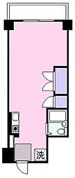 米原アートスカイハイツ[4階]の間取り