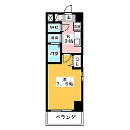 ファーニッシュ太平通[5階]の間取り