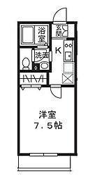 ル・ヴァン・クレールI 2階[2階]の間取り