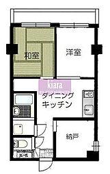 リーヴェルステージ横浜NEO[4階]の間取り