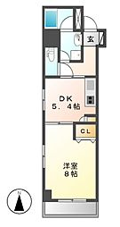 meLiV鶴舞(旧アーデン鶴舞)[14階]の間取り
