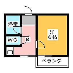 コスモカーザ[2階]の間取り