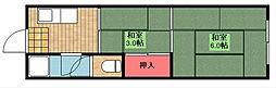 城山マンション[2階]の間取り
